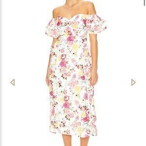 Talulah La Maison Tea Time Midi Dress